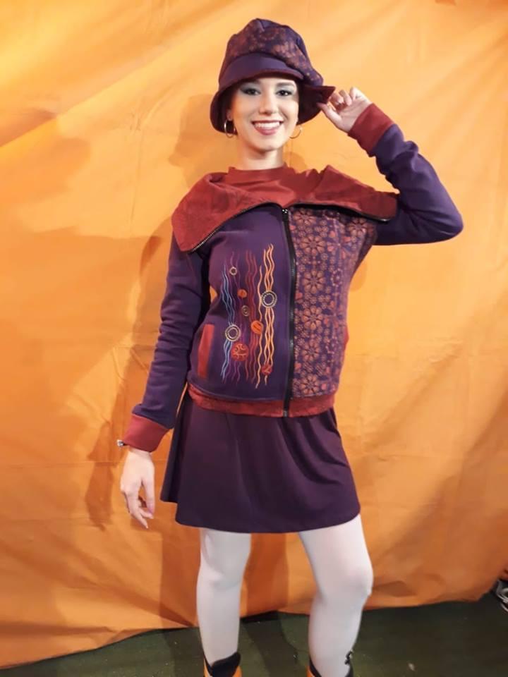 Modelos ropa 100% PIRATA y IKIFLEUR.