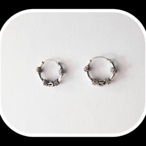 Aros de plata 12 mm