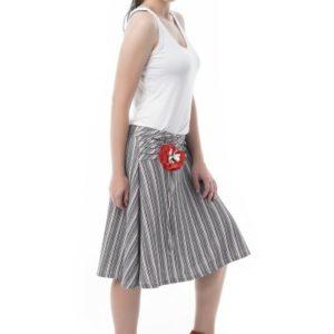 Falda de raya