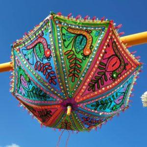 Sombrilla parasol pequeña