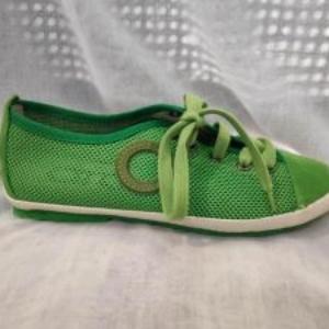 Zapatos aro verde