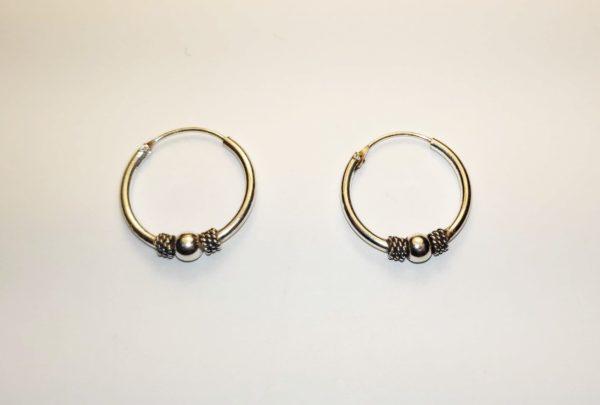 Aros de plata 18 mm
