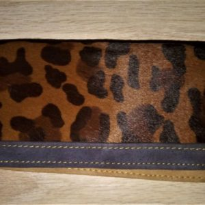Cartera animal print leopardo