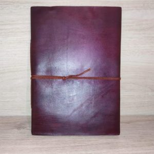 Cuaderno piel