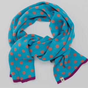 Bufanda azul
